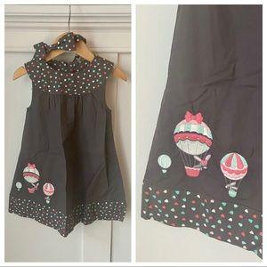 Gymboree Balloon Dress with Headband NWT